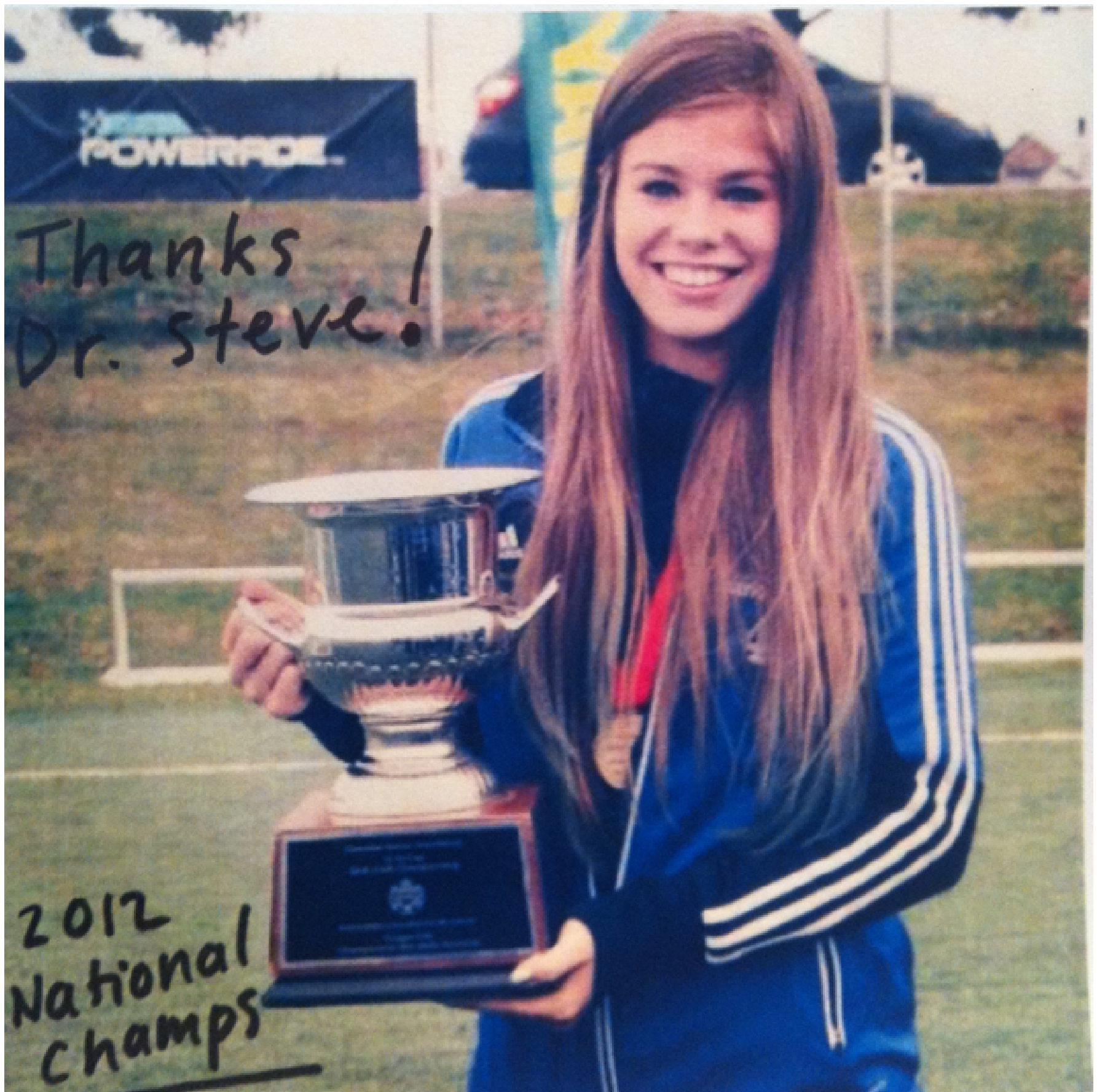 Oakville Chiropractor Assists Soccer Star