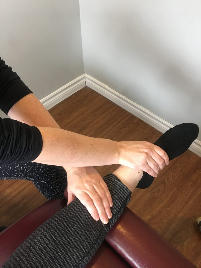 oakville physiotherapy ankle treatment
